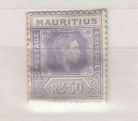 Mauritius KGVI 1938 2R 50c MNH J4399