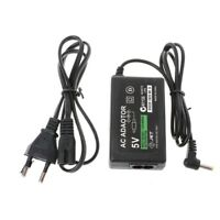 Wall Charger AC Adapter Power Supply US/EU Plug Cable For PSP 1000 2000 3000