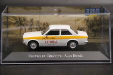 1:43 Chevrolet Chevette Auto Escola Diecast Toys Car Models Collection