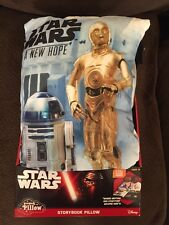2015 STAR WARS STORY BOOK PILLOW ~ A NEW HOPE ~ NEW IN BOX