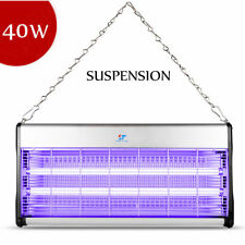 New 110V 40W Indoor Electric Uv Mosquito Killer Bug Zapper Pest Light Catcher