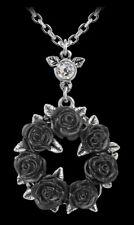 Alchemy Gothic Collar - Anillo O ' Rosas - Negros Flores Mujer Collar
