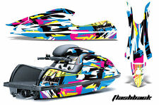 Jet Ski Graphics Kit Decal Wrap For Kawasaki JS 800 SX-R 2003-2012 FLASHBACK