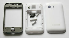 White full Housing Cover Fascia facia faceplate case for Samsung Galaxy Y S5360