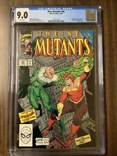 NEW MUTANTS # 86 CGC 9.0 1ST CAMEO APPEARANCE OF CABLE