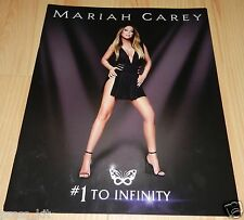 Mariah Carey Show Program Tour 1 to Infinity Las Vegas Music Night New