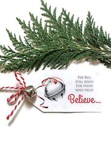 Believe Bell Christmas Eve Box Filler x1