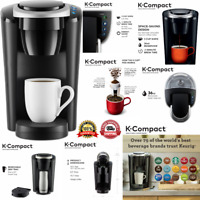 Brewer Machine Removable Water Reservoir Single Serve Kitchen Coffee Maker Black