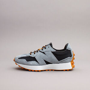New Balance 327 Black Slate Lifestyle Running Shoes New Men Classic MS327RE1