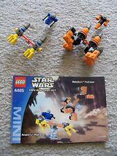 LEGO Star Wars - Rare 4485 Sebulba's & Anakin's Podracer - w/ Instructions