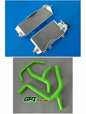 FOR KAWASAKI KXF450 KX450F 2012 2013 2014 2015 Aluminum Radiator and hose