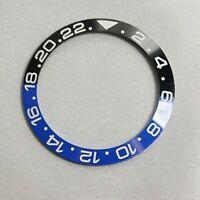 Lunetta ceramica Bezel x Rolex gmt after market blnr nero blu batman