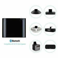 Bluetooth 4.1 Music Audio Receiver Adapter for iPod iPhone 30-Pin Dock Speaker
