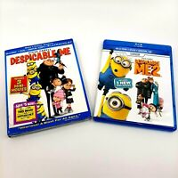 Despicable Me 1 & 2 (Blu-Ray DVD Lot)