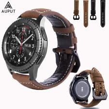 22MM Leder Armband Uhrenarmbänder Strap Für Samsung Gear S3/Galaxy Watch 46mm