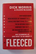 Dick Morris Fleeced 1st First Edition Hardcover Book