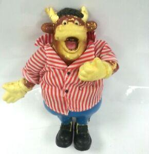 Vintage Bullseye TV Show Bendy Bully Musical Toy Retro 80s Jim Bowen Untested