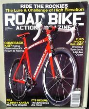 Road Bike Action Magazine Sept 2014 - Ride The Rockies - Euro Photo Gallery