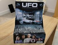DINKY 351 , GERRY ANDERSON,S UFO INTERCEPTOR REPO BOX AND DISPLAY PLINTH ..