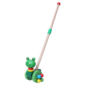 1pc Baby Toy Chic Creative Funny Stylish Fashion Push Rod Cart Toys for Toddler