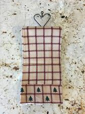 Christmas TEA Towel~KITCHEN Decor~Great for hanging on a decorative towel rack