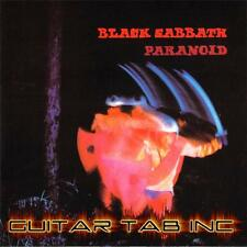 Black Sabbath Guitar Tab PARANOID Lessons on Disc Ozzy