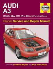 Audi A3 1996-2003 Haynes Manual Petrol Diesel NEW 4253