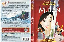 Mulan (1998) DVD - EX NOLEGGIO - OLOGRAMMA TONDO (Z8-34686)