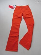 Levi's Jeans 525 Bootcut Hose W 27 /L 34 NEU ! Leuchtend Orange Stoffhose, RAR !
