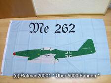 Fahnen Flagge Messerschmitt  Me 262 Düsenjäger - 90 x 150 cm