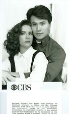 MELISSA GILBERT ROBIN SHOU PORTRAIT FORBIDDEN NIGHTS ORIGINAL 1990 CBS TV PHOTO