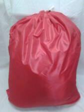 HEAVY DUTY 40x50 NYLON LAUNDRY BAG- RED   ***MADE IN USA***