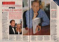 Coupure de presse Clipping 1995 Patrick Poivre d'Arvor  (4 pages)