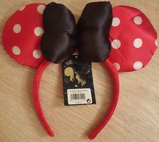 Serre-tête / Headband MN POIS BLANC / Minnie White Pea Disneyland Paris