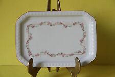 Seltmann Weiden Andrea Rosa Ranke Butterplatte Platte 18 x 12,5 cm  27978