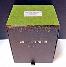 SIX FEET UNDER The Complete Series DVD SET All 63 episodes on 24 discs +2/CD's
