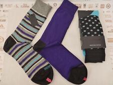 DUCHAMP Smart Sock Pack C487 Assorted Patterned Luxury UK 7-11 Cotton Socks BNIP