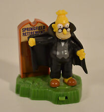 "2001 Vampire Grandpa 4"" Burger King Spooky Light-Ups Halloween Action Figure #12"