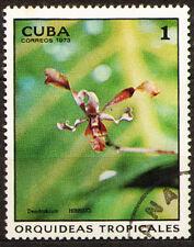 1Cuba 1973 Mi 1855 Orchids - CTO