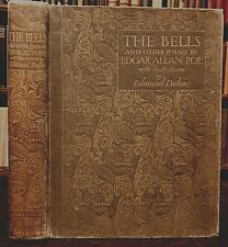 The Bells And Other Poems, Edgar Allan Poe, Edmund Dulac Iillustrations 1st 1912