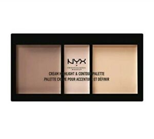 NYX Cream Highlight and Contour Kit - 01 LIGHT  NEW SEALED