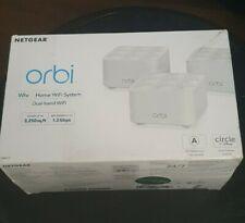 Netgear Orbi AC1200 WiFi System (3-Pack)