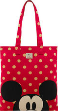Cath Kidston x Disney Minnie Mickey Mouse Red Spot Large Book Bag BRAND NEW