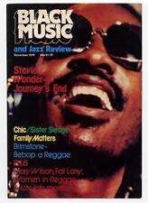 Stevie Wonder Black Music Magazine #1 GH