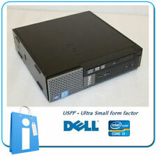 PC usdt DELL Optiplex 7010 USFF Core i3-3220 4GB 500Gb DVDRW W10 PRO Ordenador