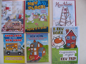New Home House Pad Cards Congratulations Moving Notifications Family Friends