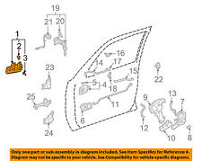 TOYOTA OEM 97-01 Camry-Outside Exterior Door Handle Left 69220AA010B0