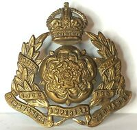 1903-08 Derbyshire Imperial Yeomanry Cap Badge 61 x 59 mm