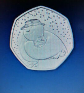 ⛄️ SNOWMAN & JAMES 50p COIN ⛄️ CERTIFIED BU UK 50p (last few going to be RARE)
