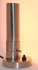 Bauhaus TISCHLEUCHTE Designlampe 20er Jahre Entwurf Messing vernickelt silbern#2
